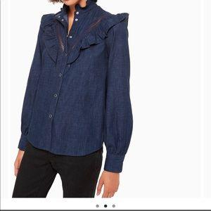 Kate Spade denim shirt
